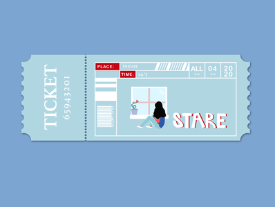 Free ticket to stare