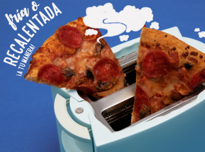 Cold or reheated? Your way