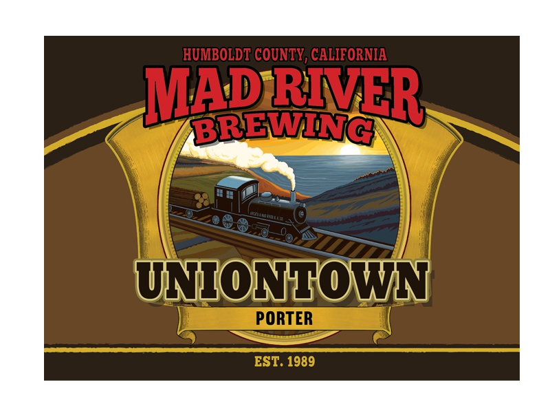 Mad River Brewing Co. Uniontown Porter brewing mad river beer packaging craft beer beer