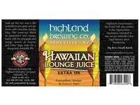 Highland Brewing Co. Hawaiian Lounge Juice
