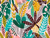 Rainforest pattern