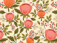 Tulips pattern