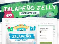 Jalapeño Jelly Display Font 🌶🌶🌶