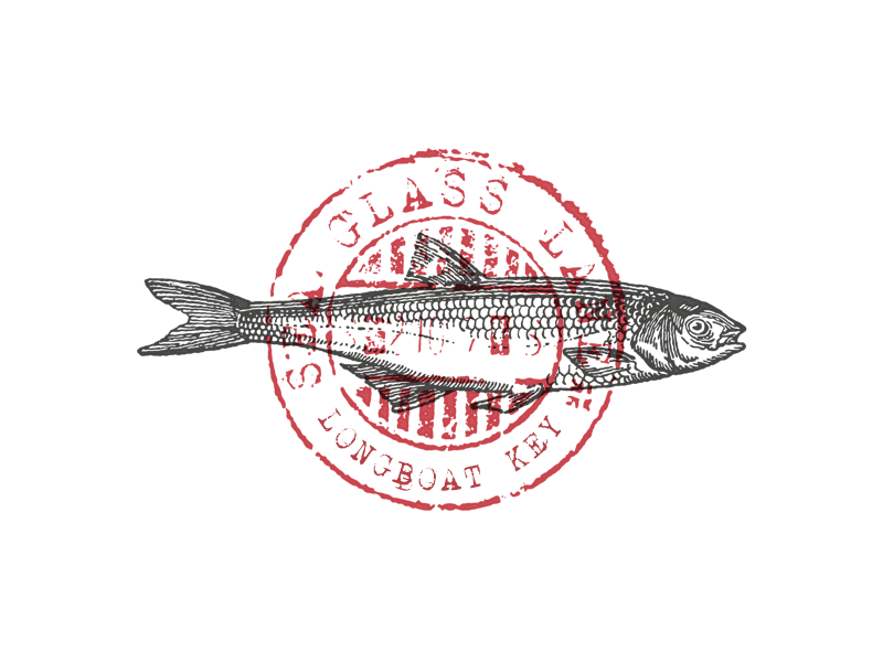 Sea Glass Lane/Fish Stamp by Ryan Parker on Dribbble