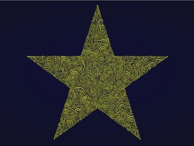 Star vector illustration adobe illustrator