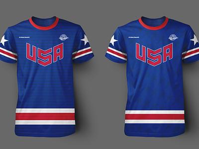 USA Jersey Concepts uniform design photoshop adobe illustrator