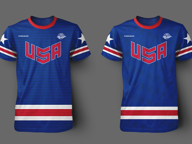 USA Jersey Concepts uniform design photoshop adobe illustrator