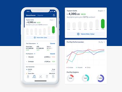 Doviz - Portfolio WIP figma design finance app ios design ios mobile fintech finance ui ux