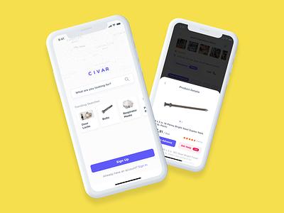 Store App Design cards ios ios design design mobile ui ux
