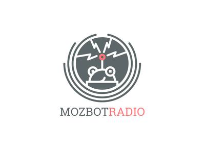 Mozbot Podcast Logo moz abe schmidt mozbot radio mozbot logo podcast