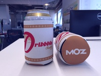 Dribbble Seattle Event - Beer Koozie