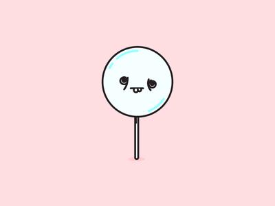 hey, it's Steve! abeschmidt character illustration. lollipop seriouslywhatisthat steve