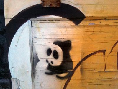 Shy Guy graffiti stencil abe schmidt seattle stencil graffiti tag shy guy