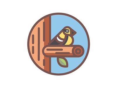 Townsend's Warbler bird line art abe schmidt birds seattle birds seattle yellow townsends warbler