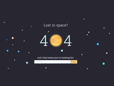 404 Page space is flat flat stars planets space 404 page 404