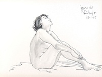 Nude Drawing at Jam de Dibujo