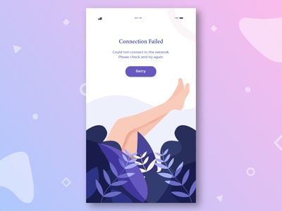 Error Illustration characters color modern web ui kit iphone illustrations icon graphic error android
