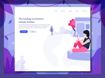 Ecommerce Illustration characters color modern web ui kit ecommerce illustrations icon graphic error natural