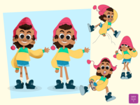 Puka Character Design Variation #1