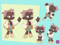 Puka Character Design Variation #3