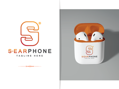 Letter S + Earphone