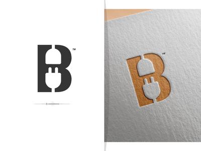 Letter B + Plug