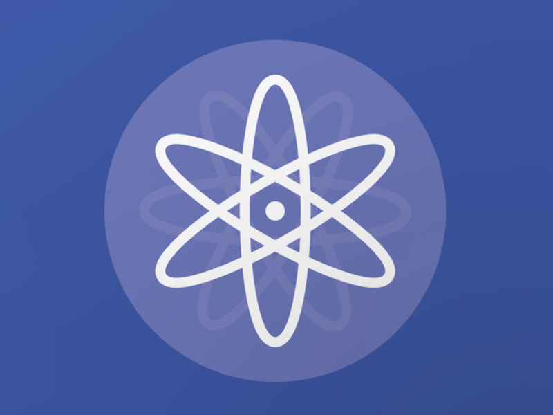 Molecule flat branding logo design vector illustration icon graphic art