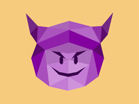 Purple Devil Emoji