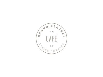 Grand Central / Cafe / Secondary Logomark