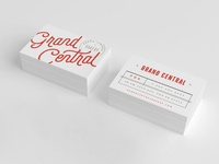 Grand Central / Bakery / Business Cards