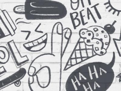 Humor Line Doodle WIP