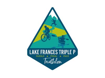Lake Frances Triple P Triathlon Logo
