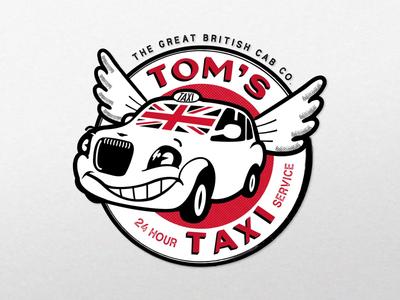Tom's Taxi Emblem Design [WIP]
