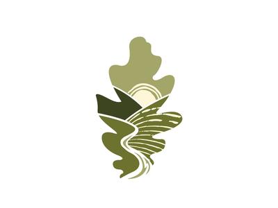 Oak Tree Farm Logo Concept