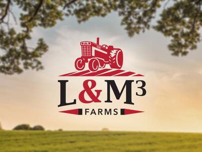 L&M3 Farms Logo Design