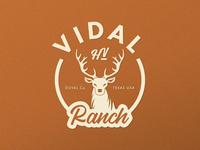 Vidal Ranch Logo Design