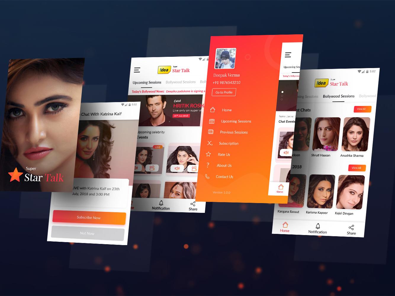Super Star Talk App
