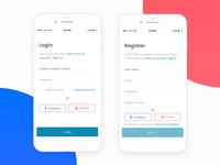 MySwaasth App (Login & Register)