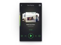 Vehicle UI design#music