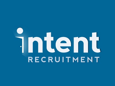 "Intent logo concept ""opening doors"" logo intent recruitment open door"