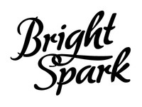 Bright Spark - Type for a promo matchbook.