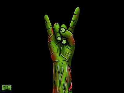 Black Friday comic art horror blood halloween illustration design graphic zombie