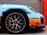 Porsche Vehicle Wrap