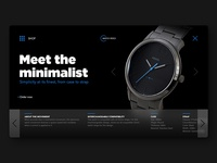 Daily UI Challenge No. 3 - Product Landing Page