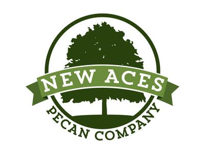 Final Logo for Pecan Company green pecan vector logo