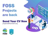 Foss community Project poster