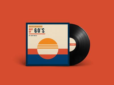 60's Throwback Sounds Vinyl
