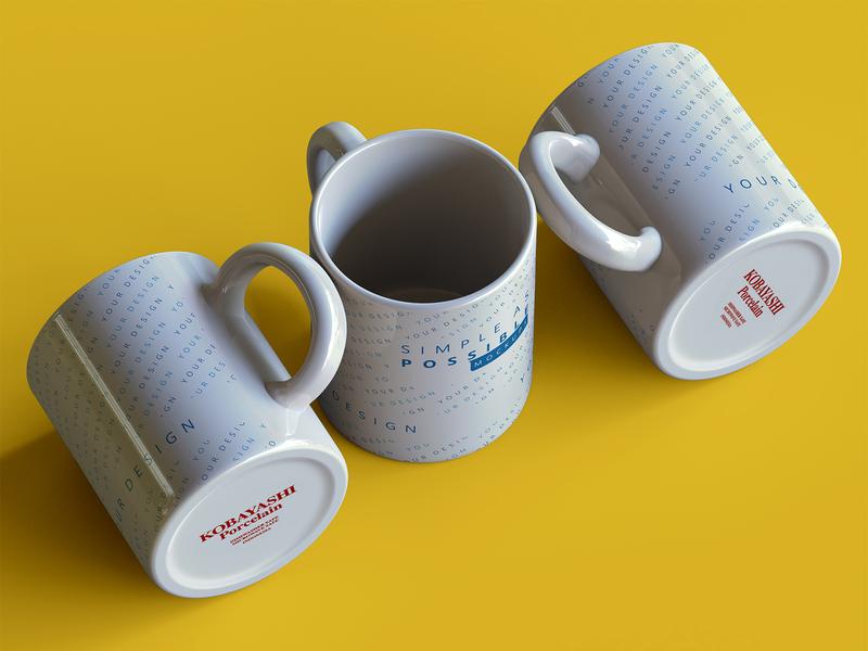 Mug mockups - work in progress