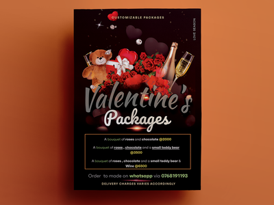Flyer - Valentines Packages