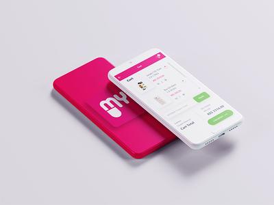 App Checkout design